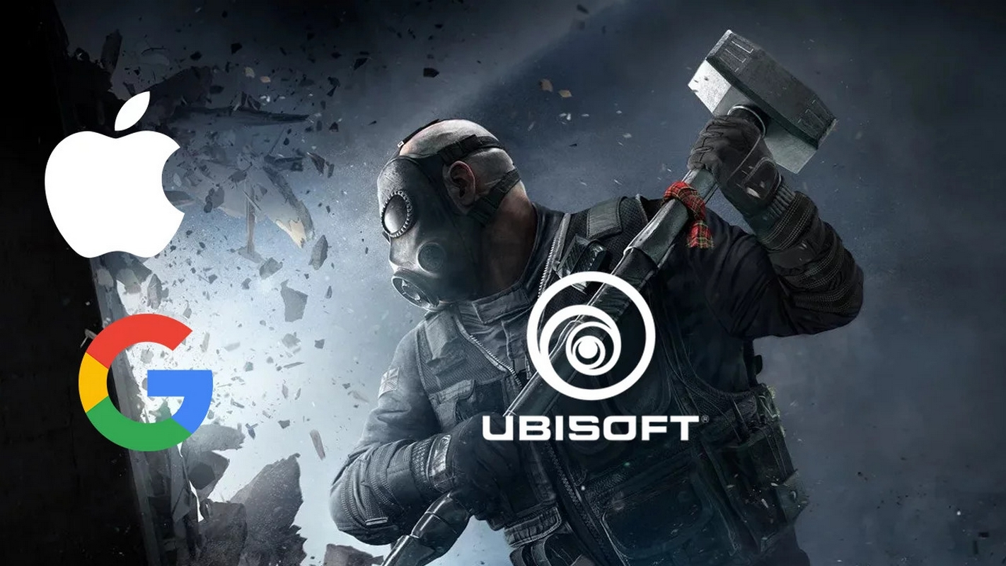 Ubisoft sues Apple and Google for refusing to remove Area F2 from its stores - a Chinese copy of Rainbow Six Siege